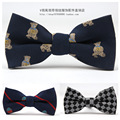 2016 New Children Boys Bow Ties Polyester Korean Fashion Baby Bowtie Collar Flowers Jacquard Weave Kids Butterfly Tie Wholesale