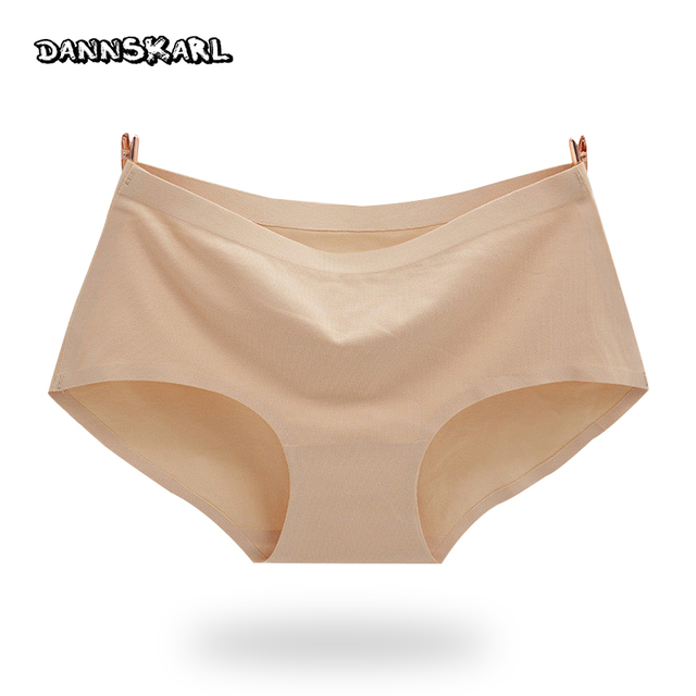 The new process intimates cotton  Women's  Panties  non-trace seamless underwear Ms in waist sexy Natural cotton briefs
