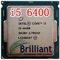Оригинальный Процессор i5 6400 14nm Quad Core 2.7 ГГц LGA 1151 Кэш TDP 65 Вт 6 МБ Рабочего ПРОЦЕССОРА