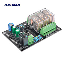 Aiyima 300W Audio Speaker Protection Board Omron Car DC Speaker Protection Board For Digital Amplifier 3 Channel DIY