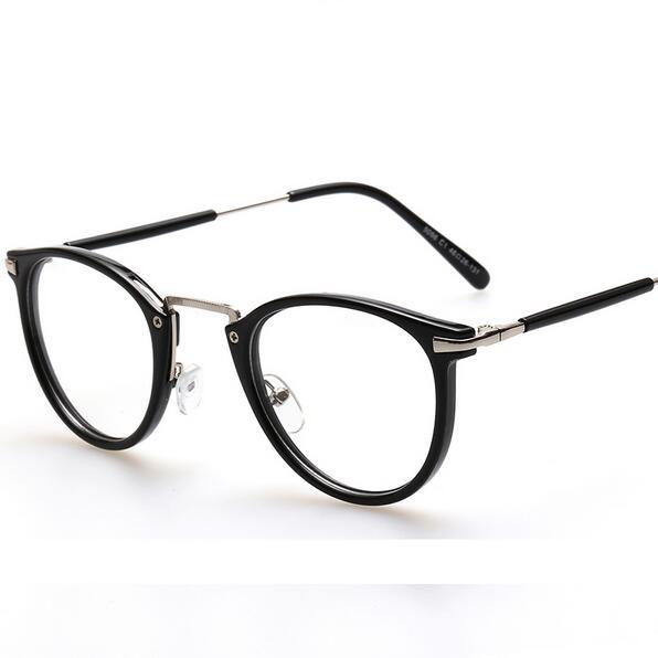 55959edc31 Round Light Optical Frame Women Vintage Glasses Frame Transparent  Spectacles Frame Montura De Gafas Para Mujer-in Eyewear Frames from Apparel  Accessories on ...