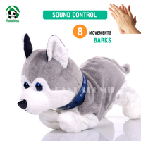 Electronic Pet Interactive Dog Sound Control Dogs Baby Toy Brinquedos Plush Dolls Dog Toys For Children