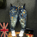 2016 NEW Children Pants baby boy's casual jeans kids fashion denim pants Spring Autumn Harem pants Trousers for 3-7T