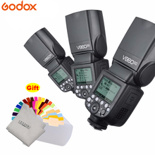 цена на Godox Ving V860II V860II-C/N/S/F/O  2.4g GN60 E-TTL HSS lithium Battery Speedlite Camera Flash for Canon Nikon Sony Fuji Olympus
