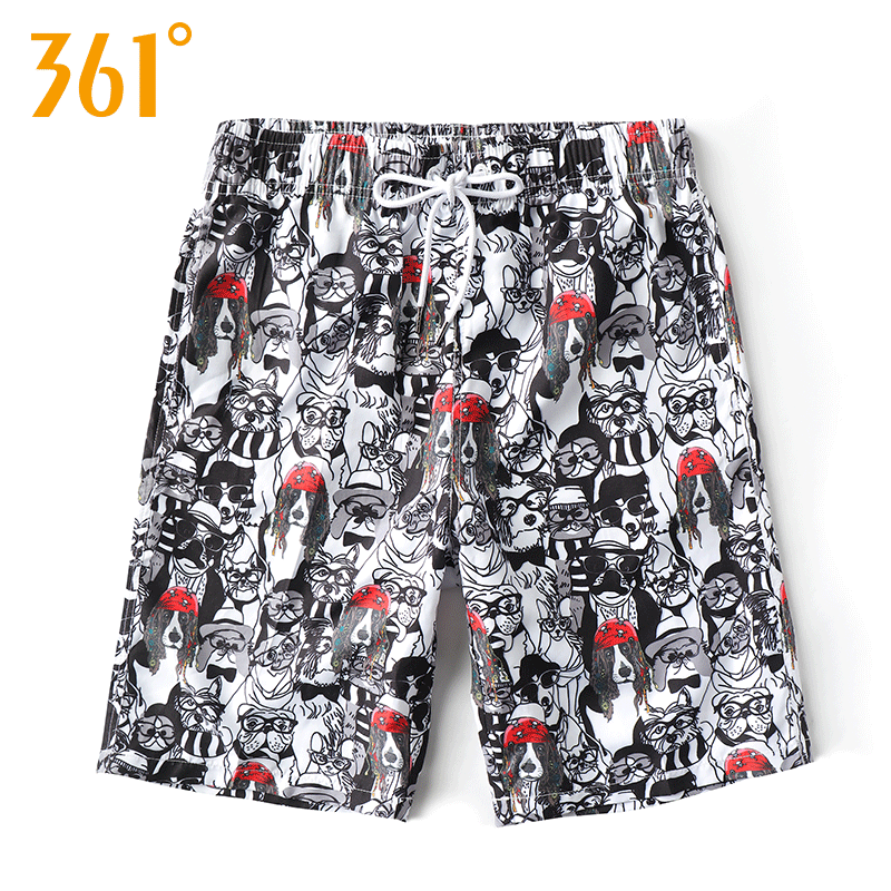 361 Male Swim Shorts Quick Dry Beach Shorts Surfing Board Shorts Men Swimwear Surfing Pants Boxer Swimming suit Male Swimwear