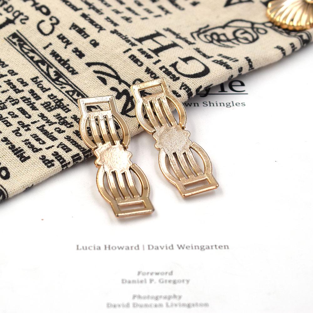 57/20mm,20pcs uv plated rose gold no fade ribbon buckles acessories crystal Invitation Ribbon Slider Headband Hair Clip DIY