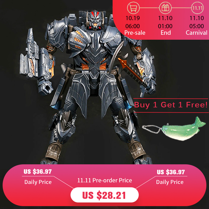WEI JIANG Newest Anime Transformation Toys Movie 5 Series Cool Action Figure Robot Car Plastic ABS + Alloy Model Child Boy Toy wei masi abs page 8