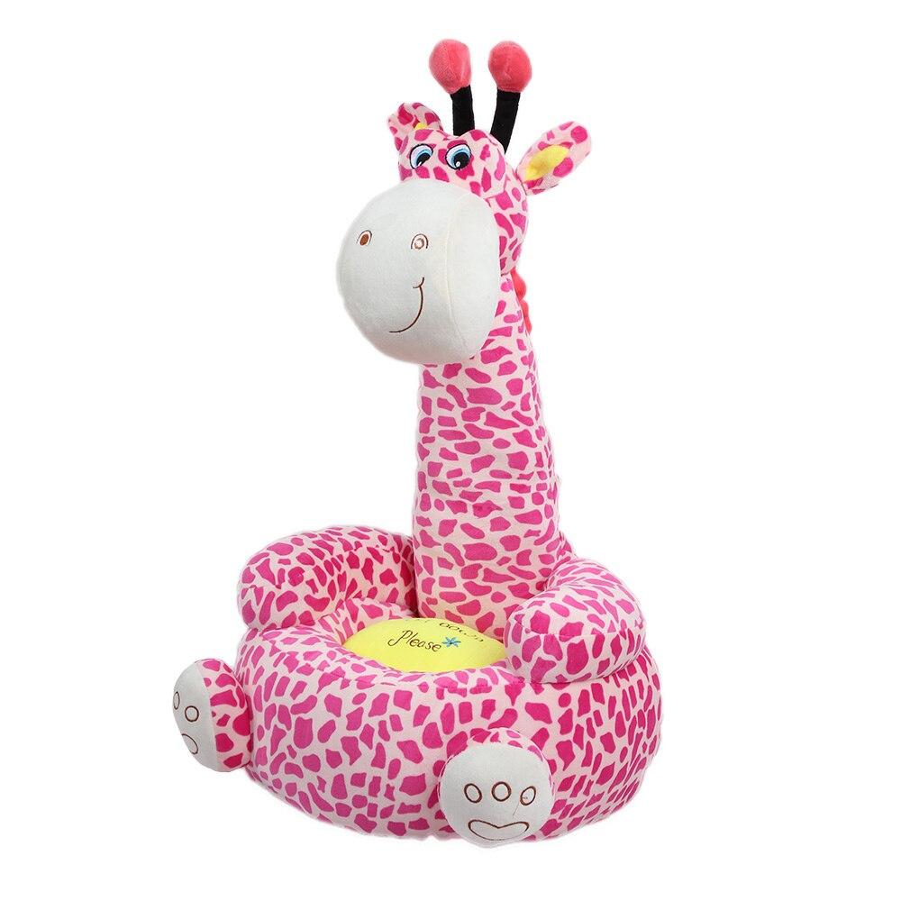Enfants de dessin animé Petit Siège Canapé Nid Chaise Girafe En Peluche Jouet Enfants Canapés Bean Sac Cheval de Bataille Chambre Docoration GG
