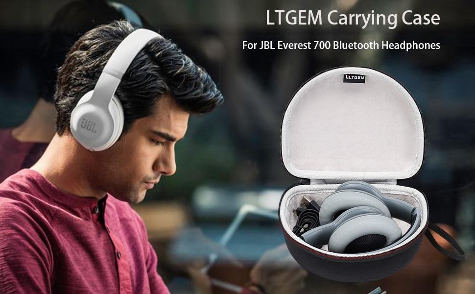 LTGEM Hard Case for JBL Everest 700/300, E45BT, E55BT Wireless Bluetooth Around-Ear HeadphonesLTGEM Hard Case for JBL Everest 700/300, E45BT, E55BT Wireless Bluetooth Around-Ear Headphones