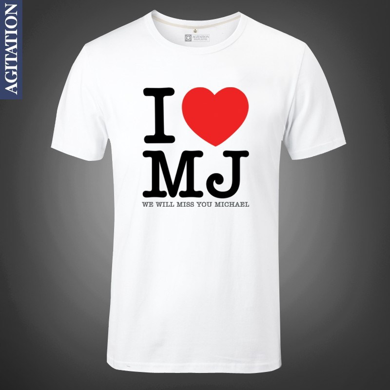 9492d7ec62fa Michael Jackson I LOVE MJ Smooth Criminal OLODUM Print Original Design  Cotton Casual Tshirt T shirt TEE Free Shipping-in T-Shirts from Men's  Clothing on ...