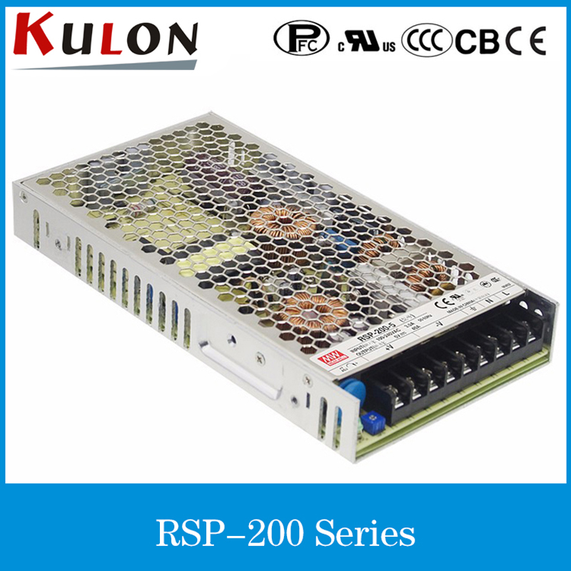 цена на Original MEAN WELL RSP-200-2.5 40A 2.5V 100W Single Output Power Supply with PFC Function RSP-200