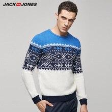 Jack Jones Marke 2017 NEUE Heiße Männer WOLLE pullover männlich chic komfortable gestrickten pullover tops 216325505