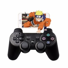 For SONY PS3 Controller Bluetooth Wireless Gamepad Controller for PlayStation3 Gaming Controller Double shock Dualshock Joystick