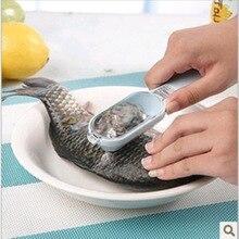 Кухонный инструмент практичная быстрая очистка рыбьей кожи чешуя Овощечистка бритва рыба-масштабный самолет рыбные чешуи чешуйки