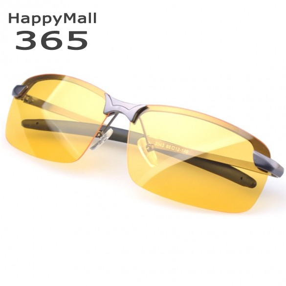 ray ban 3025 polarized night vision sunglasses  new men's polarized sunglasses yellow lens night vision driving glasses goggles driving sunglasses reduce glare #