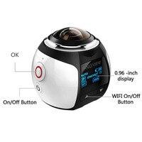 360 Camera Wifi Mini 360 Action Camera 2448 2448 Ultra HD Panorama Camera 360 Degree 220