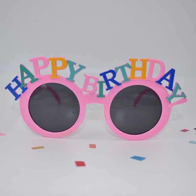 Happy Birthday Eyeglasses  2