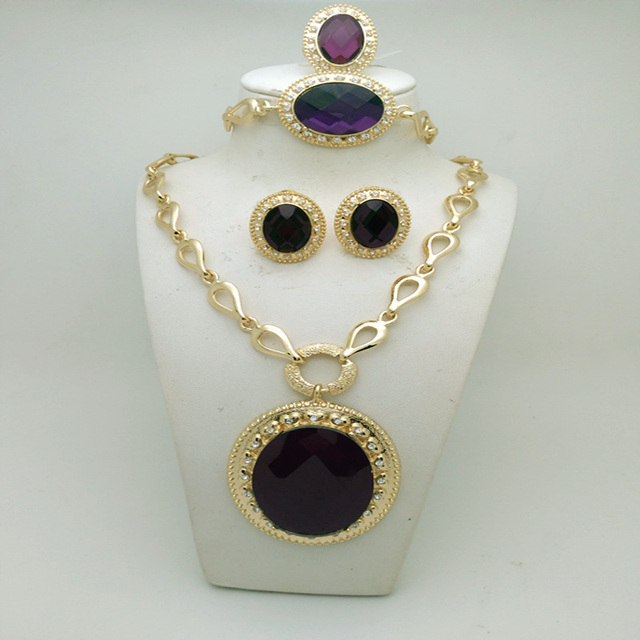 Alyson-Gold-Plated-Jewelry-Sets