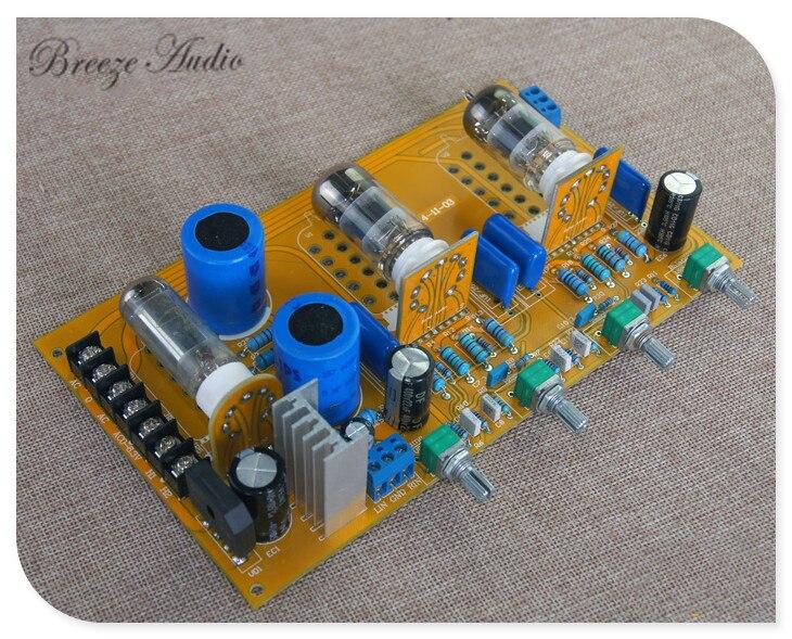 Bz002 tableau de réglage 6Z4 + 6N3 panneau de tonalité de tube de préampli biliaire