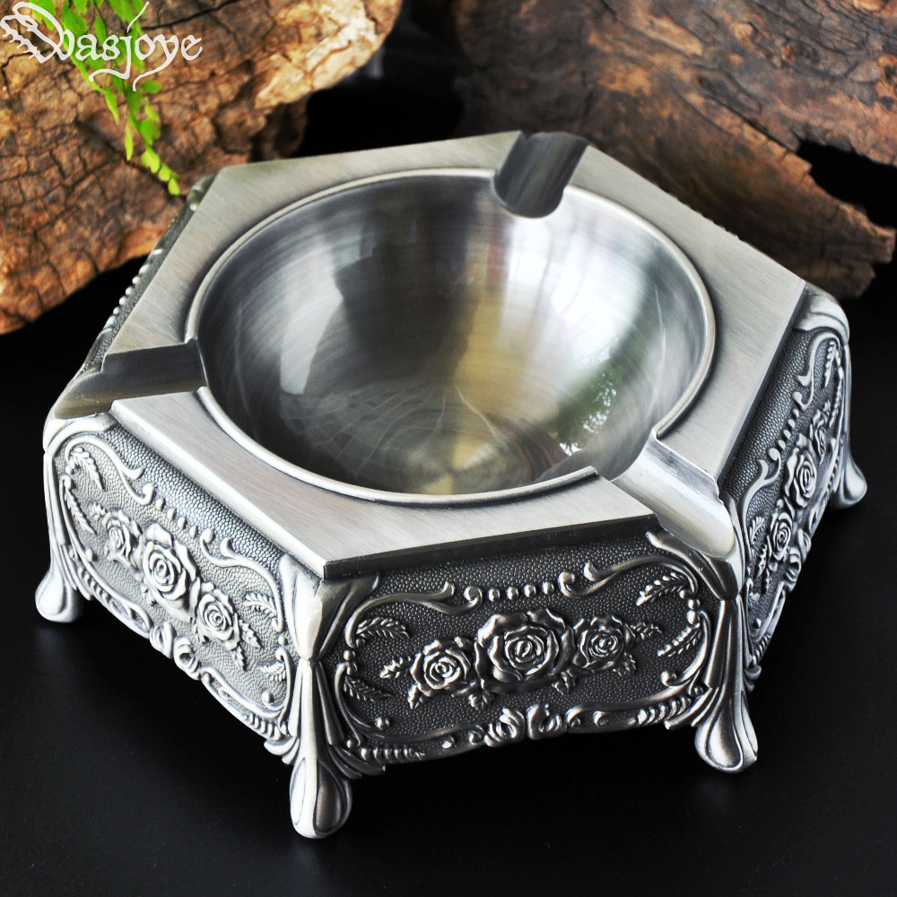 vintage high grade metal craft cigar ashtray creative decoration birthday gift ideas for boyfriendin ashtrays from home u0026 garden on