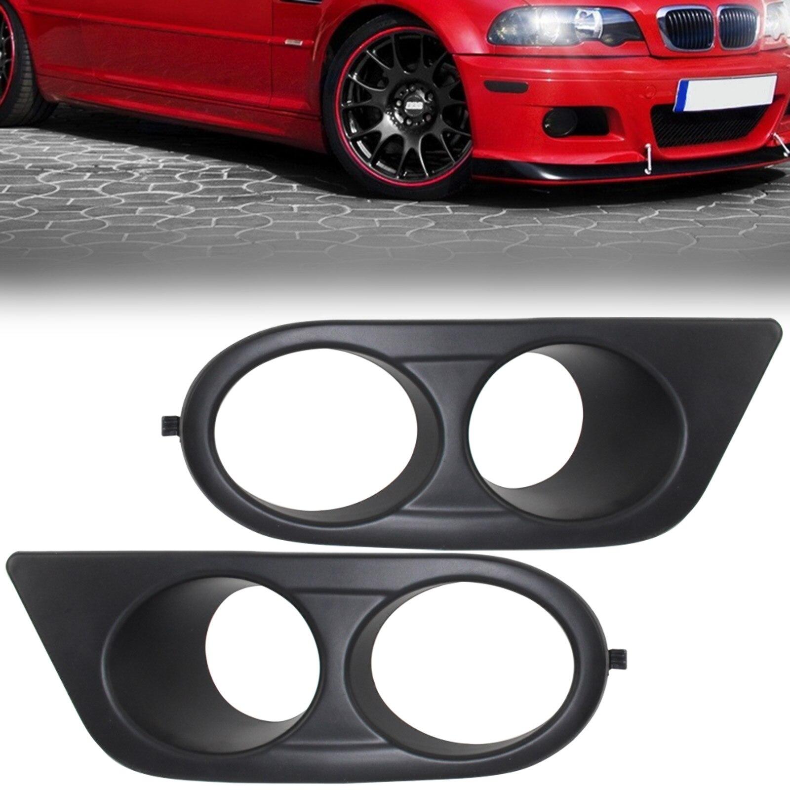 Mayitr высокое качество 1 пара автомобиль для укладки АБС Воздуховод Противотуманные фары Крышка для BMW E46 м3 2001-2006 легко установить