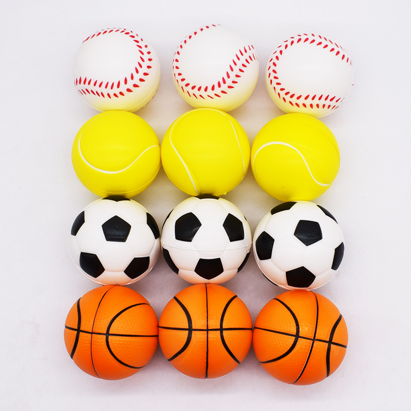 6cm Squishy Antistress Ball Funny Toy For Children Slow Rising Squishies Cable Bite Replica Football Squisy Stress Relief 2018