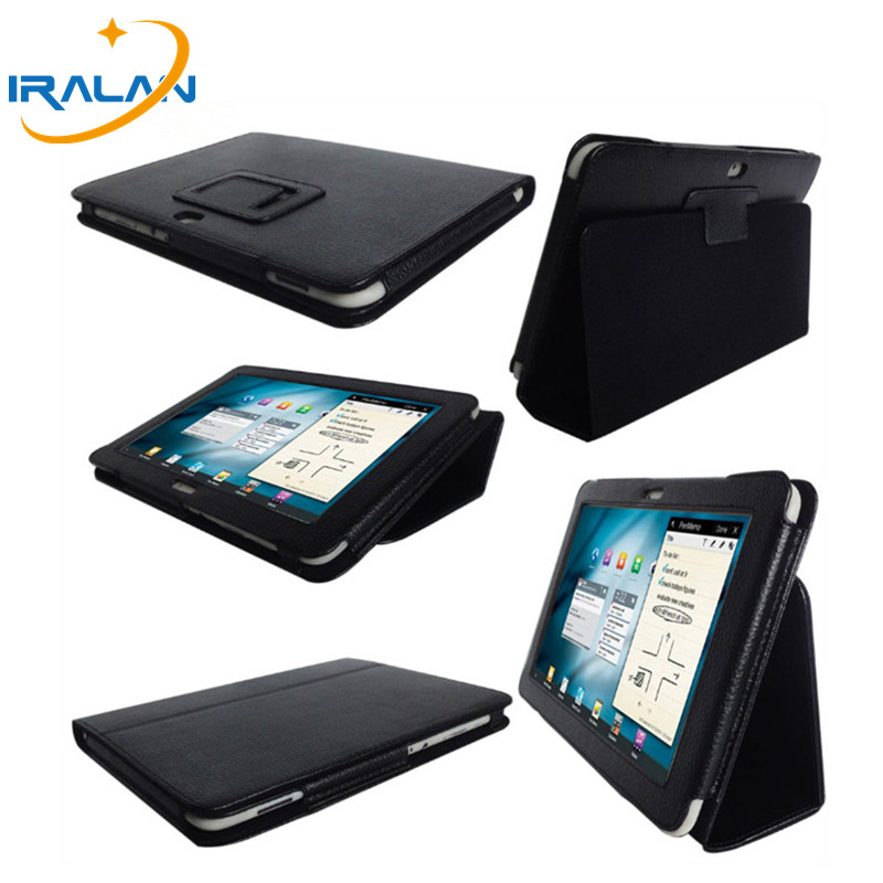 New PU leather Case for Samsung galaxy tab P7300 P7310 P7320 8.9 inch Tablet PC Stand Folio Folding Cover+Stylus free shipping