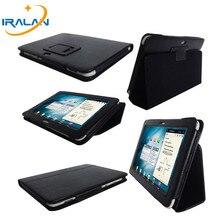 Nueva PU funda de piel para Samsung galaxy tab P7300 P7310 P7320 8.9 pulgadas Tablet PC Soporte Folio Plegable Cubierta + Stylus envío gratis