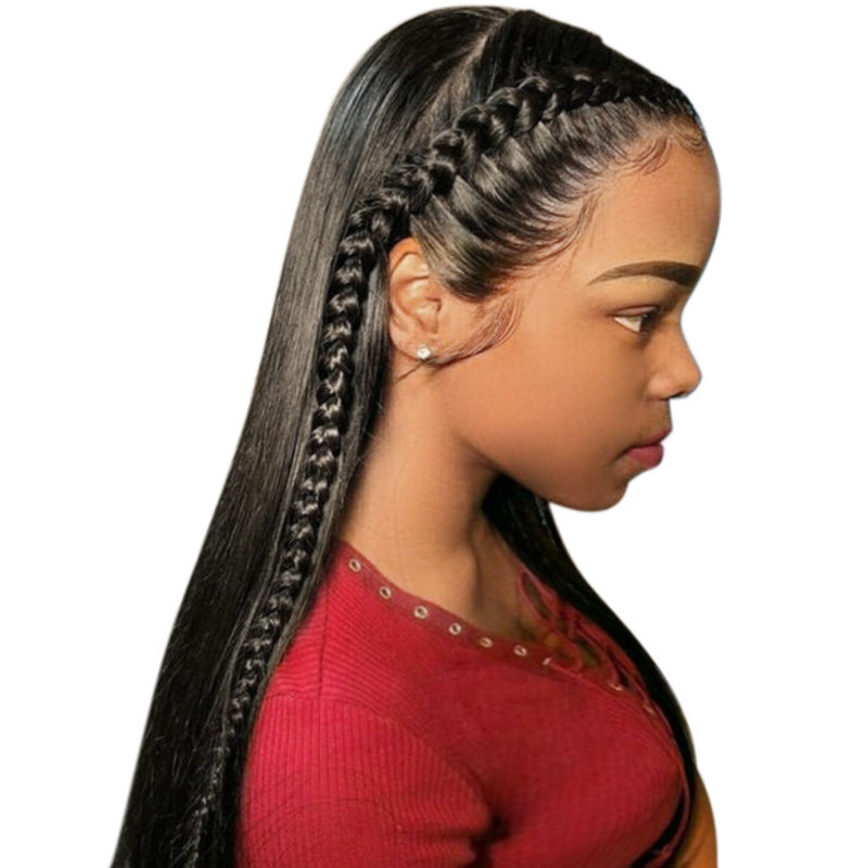 360 Lace Frontal Wigs 150 Pre Plucked Brazilian Remy Straight Lace Front Human Hair Wigs With