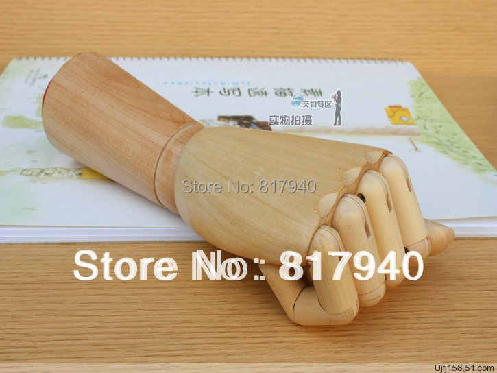 新ファッションデザイン大木製人間の手のおもちゃ柔軟な左手と右手マネキンの装飾のためマネキン手