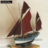 Деревянный корабль комплекты моделей Diy поезд хобби модель корабль 3d лазерная резка древесины Весы Модель 1/45 французский классический лодк