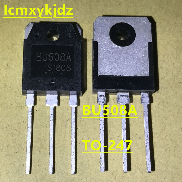 1PCS BU508A TO-247 BU508 NPN Transistors 5A 1500V 125W