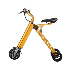 3 Wheel Foldable Electric Scooter Portable Mobility folding electric bike lithium battery bicycle