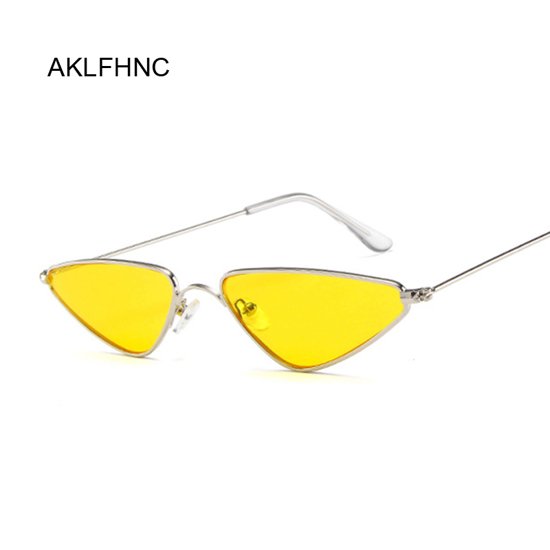 2019 Cute Sexy Ladies Cat Eye Sunglasses Women Metal Frame Fashion Vintage Sun Glasses For Female UV400 Shades