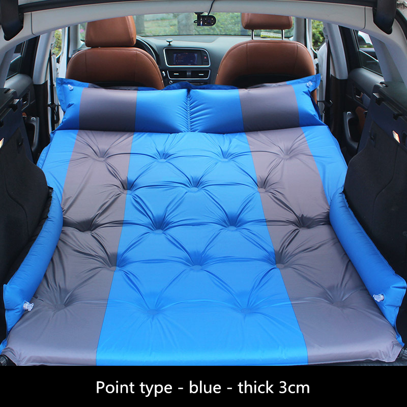 SUV Car Bed Camping Car Mattress Inflatable Car Mattress Moisture-Proof Pad Travel Bed Air Mattress Colchon Inflable Para Auto