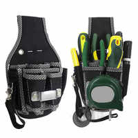9 en 1 tournevis utilitaire Kit titulaire Top qualité 600D Nylon tissu sac à outils électricien taille poche outil ceinture pochette sac