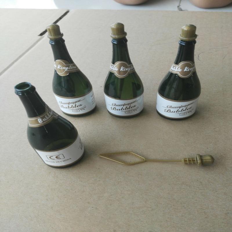 20 Pcs Mini Champagne Bubbles Empty Bottle Wedding Party Favors