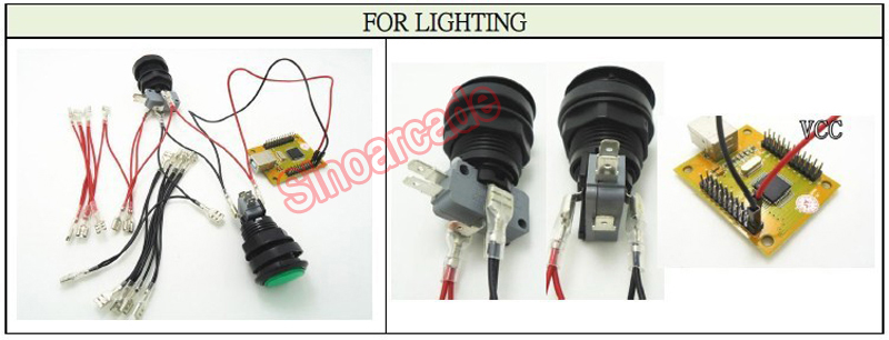 For lighting s