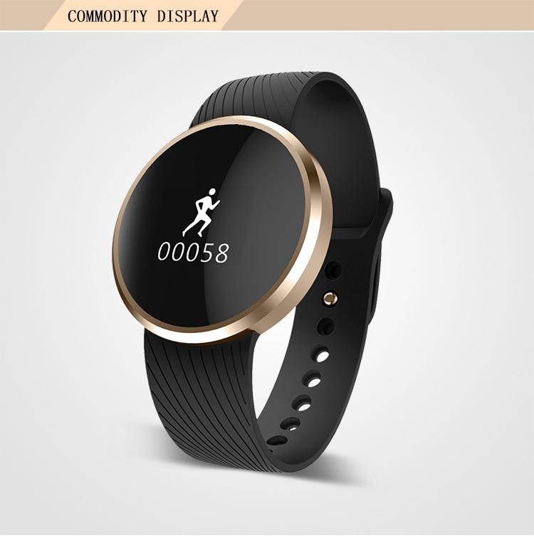 ФОТО Bluetooth 4 smart Bracelet pedometer sleep SPORTS BRACELET heart rate test