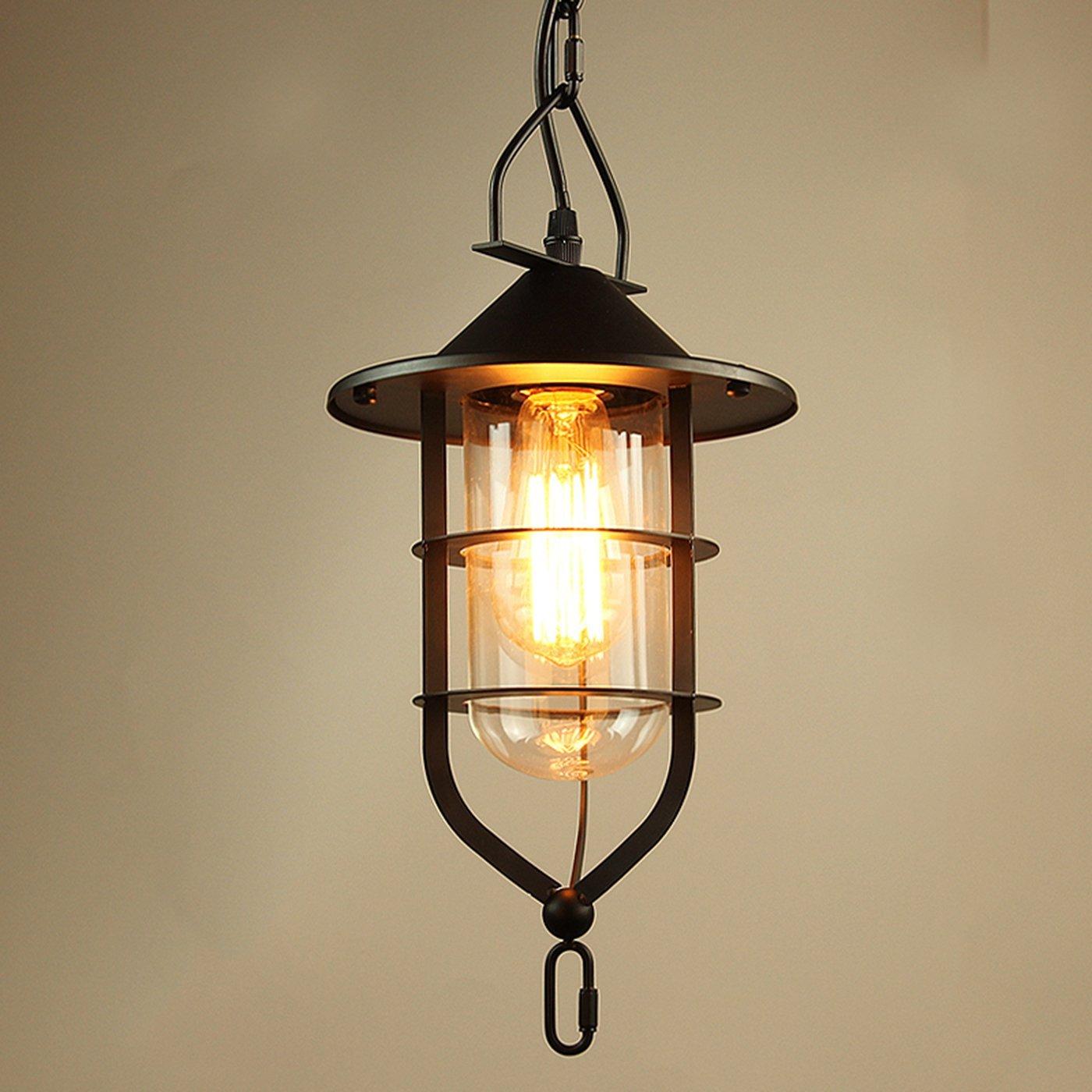 Ganeed Vintage 1 light Antique Pendant light Home Fixtures Lighting