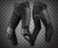 PK 709 Motorcycle Summer Style mesh breathable leather motorcycle pants anti tumble pants do not include knee slider