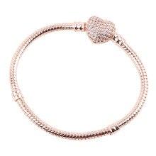 Dodocharms, высокое качество, цветная змеиная цепь, прекрасный браслет, Подходит для европейских браслетов-шармов для женщин, сделай сам, изготовление ювелирных изделий