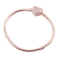 dodocharms High Quality Color Snake Chain Fine Bracelet Fit European Charm Bracelet For Women DIY Jewelry Making(China)