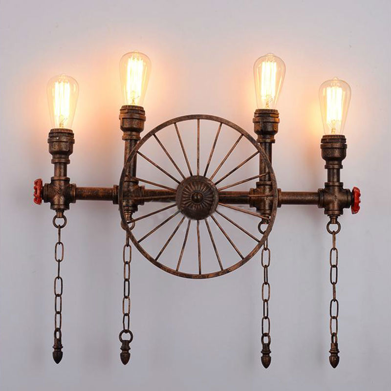 Water Pipe Wall Lamps 17