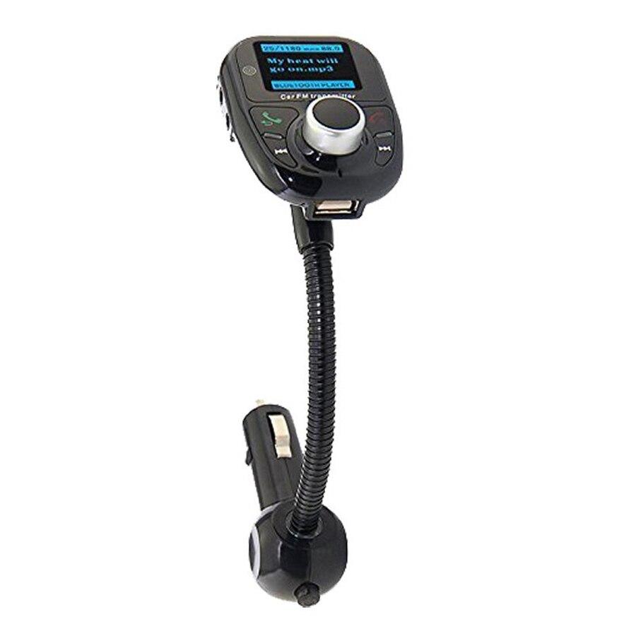 Автомобиль Универсальный Беспроводной Bluetooth MP3 fm-передатчик Радио адаптер с Hands Free вызова и пульт дистанционного управления для сотового те…