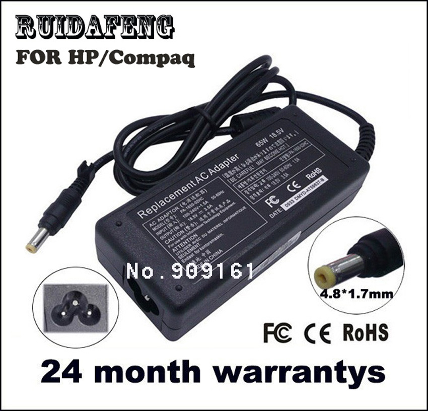 18.5V 3.5A 4.8 * 1.7mm 65W FOR HP 550 620 625 LAPTOP CHARGER AC - لوازم جانبی لپ تاپ