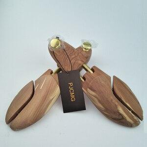 Image 5 - E N e n e n e n e n e n e n e n e n e Tüp Kırmızı sedir ağacı Ayarlanabilir Ayakkabı Şekillendirici erkek Ayakkabı Ağacı