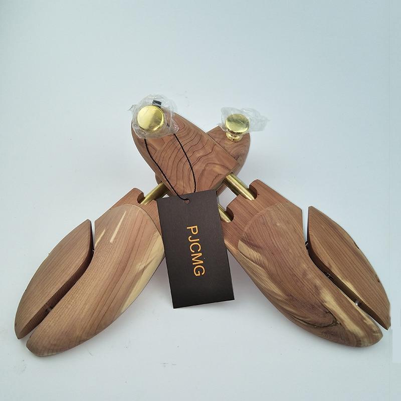 Image 5 - Twin Tube Red Cedar Wood Adjustable Shoe Shaper Men's Shoe Tree-in Shoe Trees from Shoes