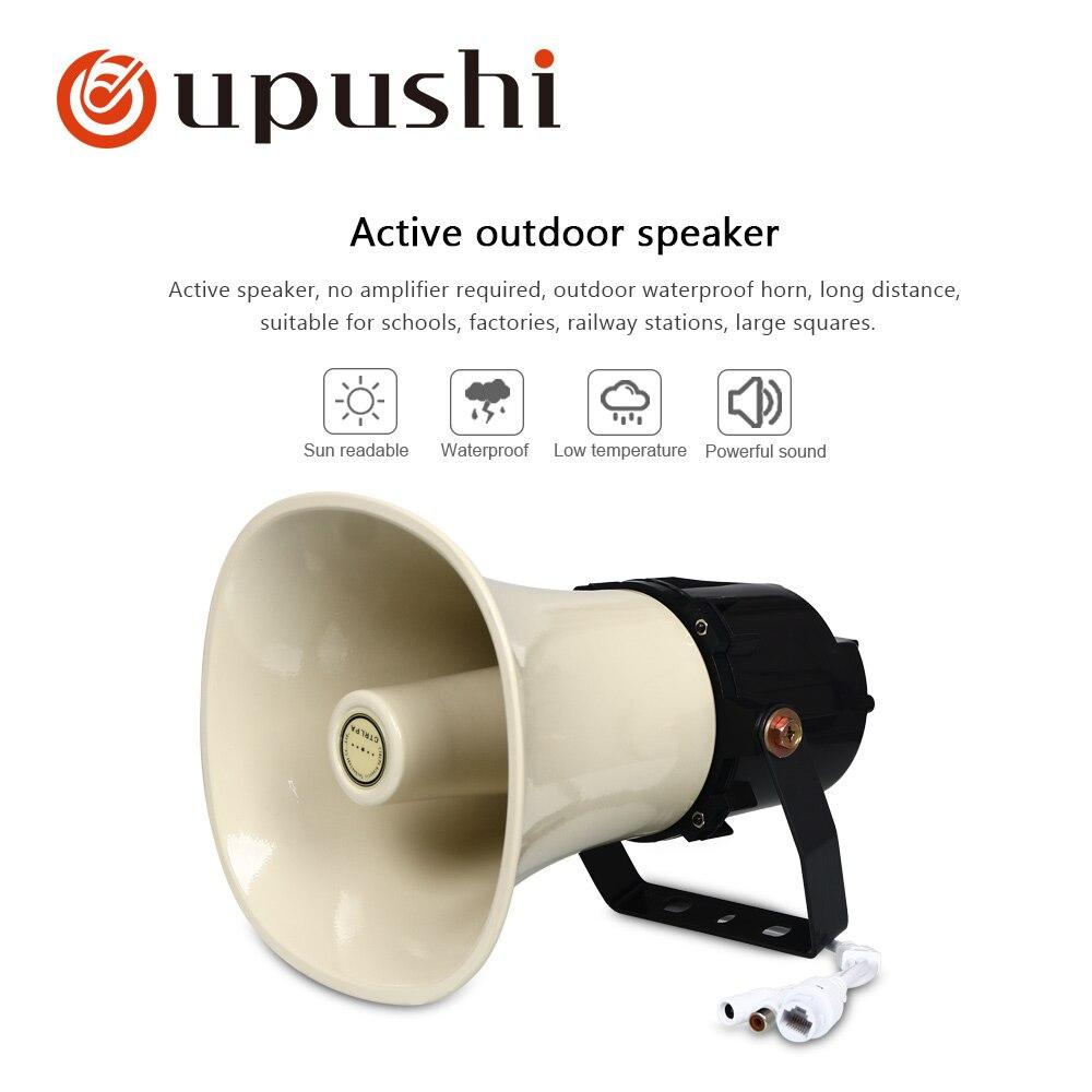 Aktive Outdoor Horn Lautsprecher Ct-651 Mit Gebaut In Verstärker Im Freien Wasserdichte Große Qualität