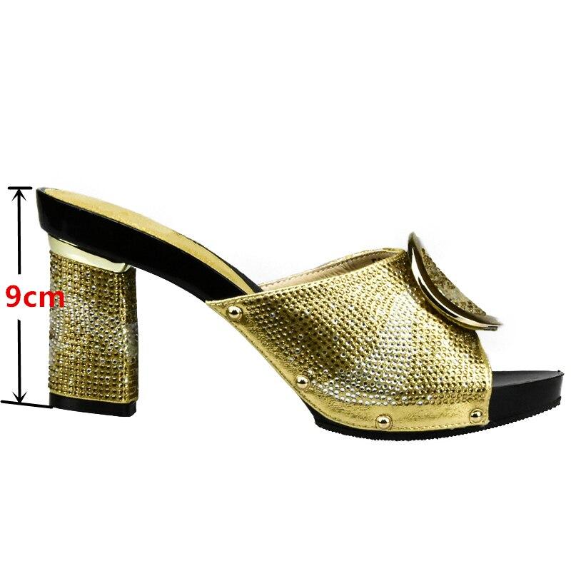 Bolsos oro Para plata Rhinestone Que Zapatos Color Set rojo Coincida Y amarillo Nigeriano Italianos Con Rojo Decorado Bolsa Conjunto Negro naranja xPqpSwa
